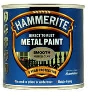 Hammerite Metal Paint Smooth 250ml - Muted Clay